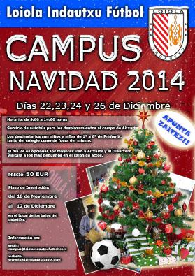 Campus de Navidad 2014