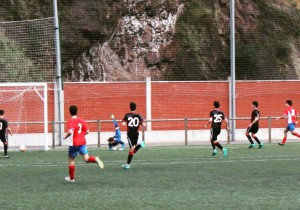 El Cadete A se adelantó con este gol de Ayús