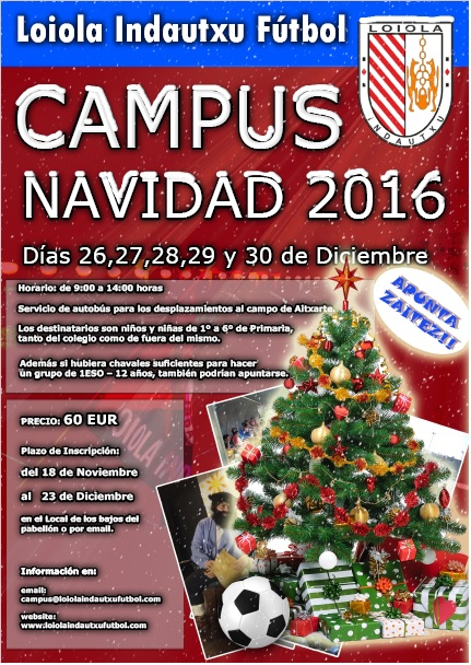Campus de Navidad 2016