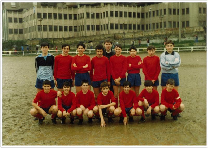 Infantil B - 1987 - Loyola 1 - Baskonia 1