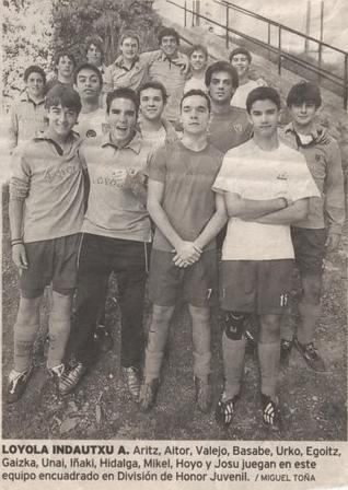Temporada 2004/05. Juv A, generaciones 86, 87 y 88